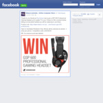 Win a Sennheiser GSP 600 Professional Gaming Headset Worth $399.95 from Mwave