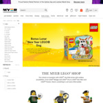 LEGO 25% off, Samsonite BOGOF @ Myer