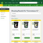 ½ Price Connoisseur Ice Cream 1L Tubs $5 @ Woolworths