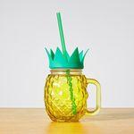 Tropicana Pineapple Mason Jar (with Straw) $0.50 (Was $1.50) @Target