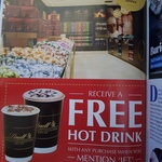 Free Hot Drink with Any Purchase When You Mention JET @ Lindt Cafe