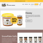 30% off Raw Honey + Other Gourmet Groceries Offers, $10 Delivery or Free for Order over $100 @ The Gold River Company