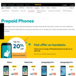 Up to 20% off Prepaid Phones (Samsung Galaxy J5 Pro $239, Samsung Galaxy J2 Pro $179, OPPO A73 Black $209) @ Optus
