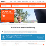 Jetstar Bring the Party Home Flight Sale - Melbourne to Sydney $35, Sydney to Gold Coast $45, Newcastle to Gold Coast $49