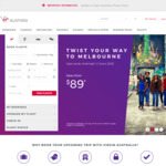 Virgin Australia Family and Friends: up to 20% off Selected Domestic Flights, 15% off International