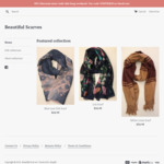 50% off Sitewide @ Beautiful Scarves