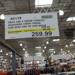 [VIC] Xbox One S 500GB WITH COD WWII & Assassins Creed Origins + 4k UHD Movie $259.99 Costco Docklands (Membership Reqd.)