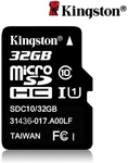 Kingston Class 10 32GB MicroSDHC TF Flash Memory Card US $7.29 (~AU $9.79) Delivered @ Tomtop