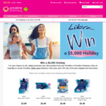 Win a $5,000 Holiday thanks to Libra & Priceline