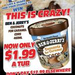 [QLD] Ben & Jerry's Coconut for Caramel Core Ice Cream 460ml $1.99 @ Northside Fruit Barn (Rothwell)