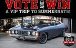Win a Trip to the Summernats Festival in Canberra for 2 Worth $7,144 from Bauer Media