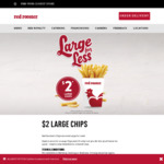 $2 Large Chips (Before 4PM) @ Red Rooster
