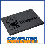 "Kingston A400 480GB 2.5"" SSD $100 + $15 Delivery (Free with eBay Plus) @ Computer Alliance eBay"