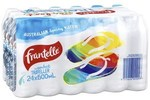 Frantelle Natural Spring Water 600ml 24 Pack $7.50 (Was $15) @ Coles