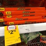 [NSW] Reese's Cups 8 Pack $2.15, Hershey's Syrup 680g $2.50, Dr Pepper Cans $1 @ Coles Asquith