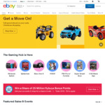 Buy One, Get One 20% off Sitewide @ eBay (Min Spend $50, Max Discount $300)