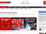 2 for 1 tickets to The Boy From Oz in Sydney. Save $99.90