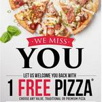 1 Free Value/Traditional/Premium Pizza @ Domino's