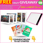 Win 1 of 15 Diamond Painting Prize Packs from Easy Whim on Facebook