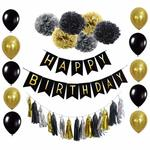 Birthday Party Decorations Set on Sale for $14.99 + Delivery (Free with Prime/ $49 Spend) @ B&D Party via Amazon AU