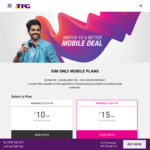 TPG T4G PAYG $1/Mth 50MB  (Minimum $31 = $1 First Month + $20 Prepayment + $10 Sim Charge)