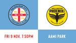 (VIC) FREE Family GA Ticket to A-League  Melbourne City vs Wellington Phoenix @ AAMI Park on 9th Nov 2018