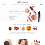 40% off Sitewide (Excluding Gift Sets and Limited Edition Items) Free Shipping Min Order $50 @ Nude by Nature
