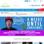 Extra 10% off with Coupon Code Including Sales Items at Cycle Station