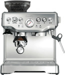 Breville BES870BSS The Barista Espresso Coffee Machine $519.20 C&C @ The Good Guys eBay