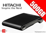 $49.95 Hitachi X-Drive 500Gb 2.5inch Portable Hard Drive