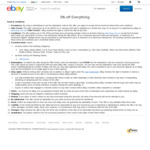 5% off Sitewide ($100 Min Spend, $50 Max Discount, 1 Transaction Per Account) @ eBay