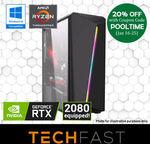 Ryzen Threadripper 1920X RTX 2080 240GB SSD 16GB DDR4 +Battlefield V $1919.20, Threadripper 1950X $2279.20 @ eBay Techfast