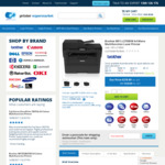 Brother MFC-L2750DW Mono Laser Wireless Multifunction Printer $218.89 + Shipping @ Printer Supermarket