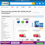 50-80% off Selected Items + Extra 10% for Club Catch/ Google Home $97/ Dyson V6 $287 @ Catch