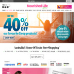 15% off Sitewide @ Nourished Life