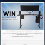 Win an Omnidesk Pro XL Electric Sit/Stand Desk Worth $1,020 from Aftershock PC