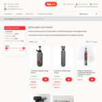 Full CO2 Refillable Cylinder 2.6kg/6kg $73/$83 +~$19/$26 Postage (Was $98/$109+p&h) Kegland