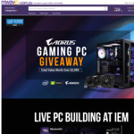 Win an AORUS IEM Global Elite 2019 Gaming PC Worth $2,999 from Mwave