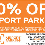 [VIC] 20% off Parking @ Ace Airport Parking (at Melbourne Airport)