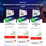 Antivirus Plus 2019 $34.99, Total Security 2019 $59.99, Internet Security 2019 $49.99 @ Bitdefender