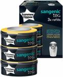 Tommee Tippee Sangenic Nappy Disposal Refill Cassette (3-Pack) $25 + Delivery (Free with Prime/ $39 Spend) @ Amazon AU
