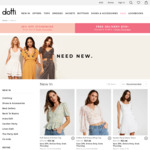 25% Off Storewide & Free Shipping for Orders Over $110 @ Dotti