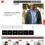 Mens Blocktech Parka Jackets $79.90 @ UNIQLO