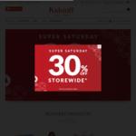 30% off Storewide and Online @ Kidstuff