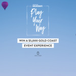 Win a Gold Coast Event Holiday Package of Choice Worth Up to $5,640 from Destination Gold Coast