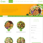 10% off Design Your Own Salads and Wraps for Online and App Orders @ Sumo Salad