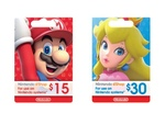 10% off Nintendo eShop Currency Cards | 15% off iTunes Gift Cards @ Target