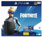 PS4 1TB Pro Fortnite $374 | PS4 1TB + 2-4 Games $314 | PlayStation VR Camera & VR Worlds Bundle $244 + More @ BigW eBay