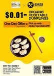 [ACT] $0.01 Dumplings @ Flavours of Jiangnan Canberra via EASI APP (Pick up Only, No Minimum Spend)