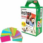 Fujifilm Instax Mini Instant Film (5 Twin Packs/100 Sheets) & Extras $27.39 + Delivery ($0 with Prime) @ Amazon US via AU